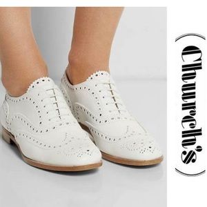 Church's Burwood Oxford Brogues 9 9.5 Shoes White
